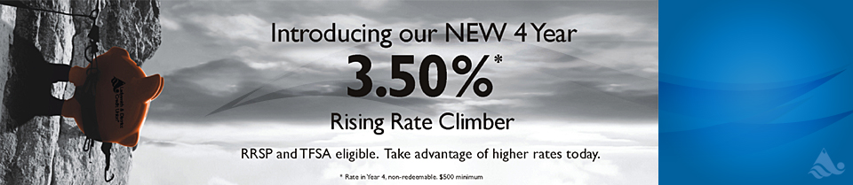 3.5 Percent 4 Year Rising Rate Climber